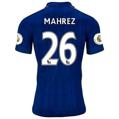 LEICESTER CITY Home jersey MAHREZ 26 for size Large