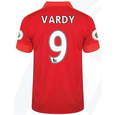 LEICESTER CITY Away jersey VARDY 9 for size Large