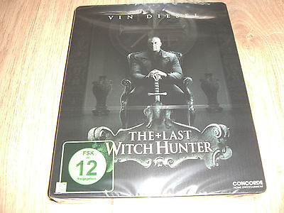 The Last Witch Hunter Blu-Ray Steelbook NEU