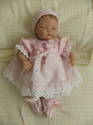 "Handmade baby dolls clothes fit 10"" emmy/ reborn / ooak"