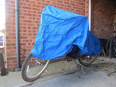 Motorcycle or bicycle cover - protect your bike from the elements this winter