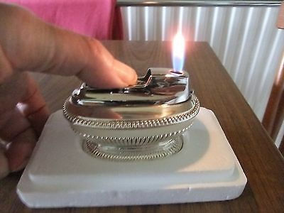 Ronson Premier Mk 2 Varaflame Table Lighter  - Unused and fully overhauled..