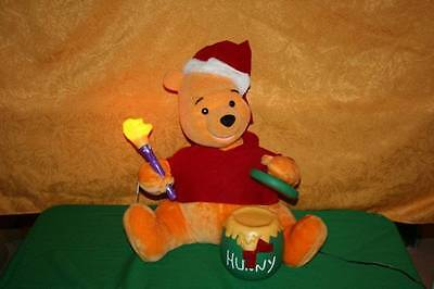 Vintage Telco Winnie The Pooh Lighted Christmas Decoration