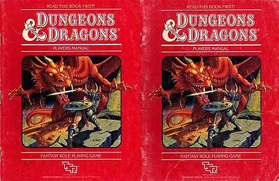 BASIC SET RULES 1011 Unboxed Dungeons Dragons AD&D D&D TSR Box Dungeon Game