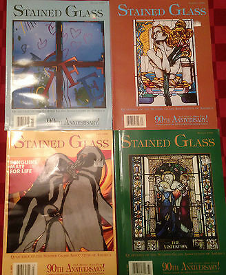 Stained Glass Quarterly Magazine Volume 91 Complete
