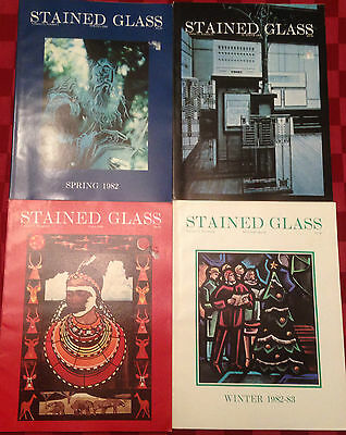 Stained Glass Quarterly Magazine Volume 77 Complete