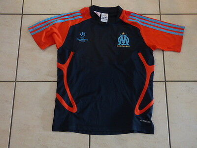 maillot om marseille taille 12 ans