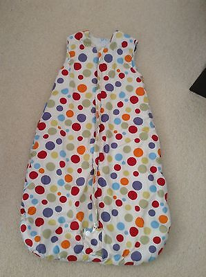 Grobag 0-6 months 2.5 tog boys or girls spotty colourful Use In Car seat.