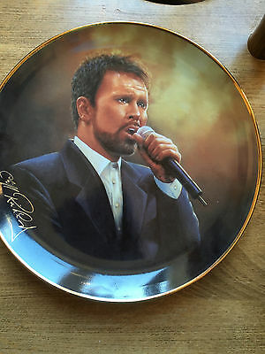 Cliff Richard 40 Years Collectors Plate - Another Album Another Look