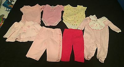 Lot Of Girls Size 3-6 Months Clothing