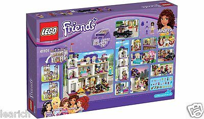 LEGO Friends Heartlake Grand Hotel Playset with Mini-Doll Figures, 1552Pcs 41101