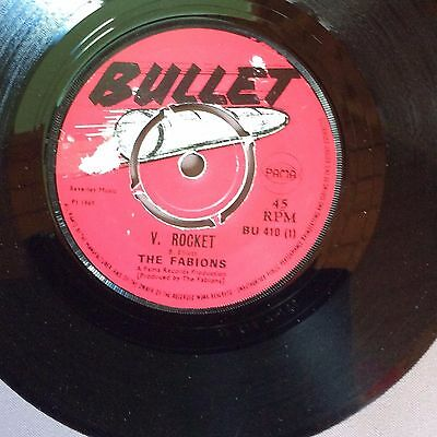 V Rocket/smile-The Fabions --Top Skinhead Double Sider