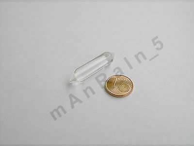 Clear Colorless Force Crystal for Graflex Heiland MPP Custom Lightsaber