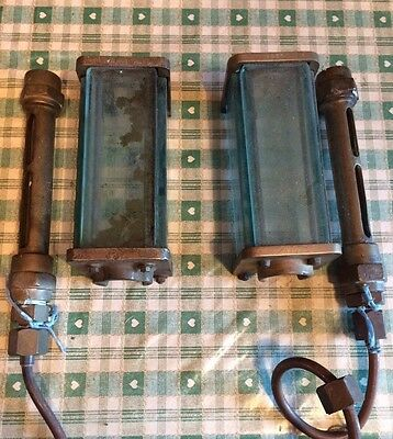 Steam Engine Brass Water Level Tubes and Glass protectors