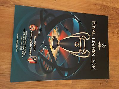 2014 Champions League Final Real Madrid v Athletico Madrid  MINT  Condition