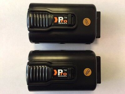 2 xreplacement lithium  paslode IM360I batteries7.4v(LOWEST PRICE ON EBAY)paslod