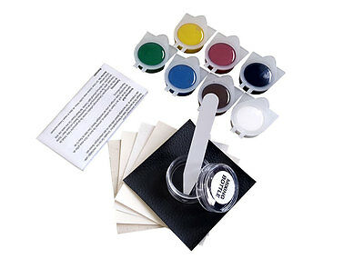 UK DIY Leather & Vinyl Repair kit for tears,rips,holes,burns with MANUAL no heat
