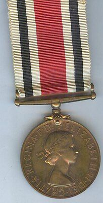 Special Constabulary Medal ER2, Inspector H. T. Booth, Blackpool.