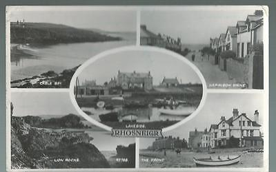 Old Postcard   Valentine's   Five Views   Rhosneigr    Wales   Posted
