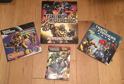 Bundle Of 5 Transformers Books. In Very Good Condition.