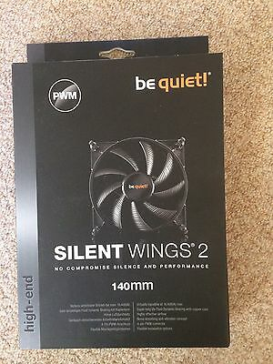 New - Silent Wings 2 - 140mm High End Fan - be quiet! - BNIB