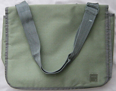 Swiss International Air Lines Olive Color Shoulder Bag Exclusively by SkySupply