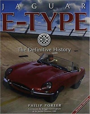Jaguar E-type (2nd Edition) The Definitive History, by Philip Porter book paper