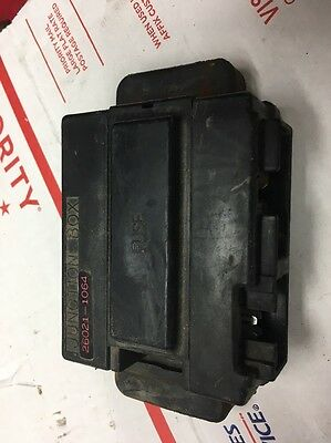 88 1988 Kawasaki Ex500 Ex 500 Fuse Junction Box