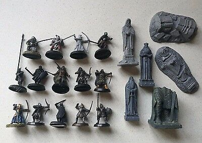 GW LOTR Lord of the Rings Hobbit Warhammer Ruins Statue Scenery & Figures (P128)
