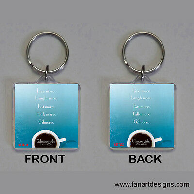 Gilmore Girls: A Year In The Life - Lauren Graham - Alexis Bledel -  Keychain #7