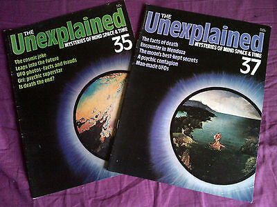The Unexplained - Mysteries of mind, space & time. Issues 35 & 37.