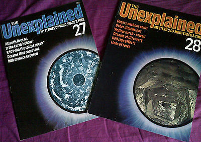The Unexplained - Mysteries of mind, space & time. Issues 27 & 28.