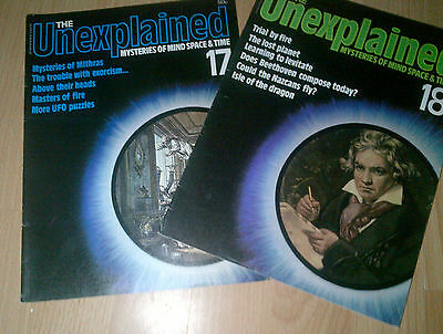 The Unexplained - Mysteries of mind, space & time. Issues 17 & 18.