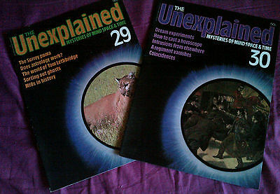 The Unexplained - Mysteries of mind, space & time. Issues 29 & 30.