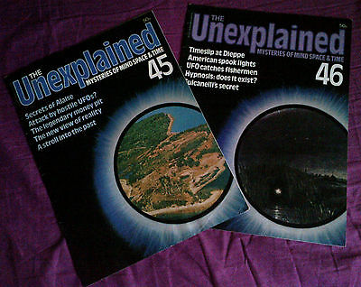 The Unexplained - Mysteries of mind, space & time. Issues 45 & 46.