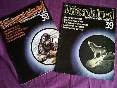 The Unexplained - Mysteries of mind, space & time. Issues 38 & 39.