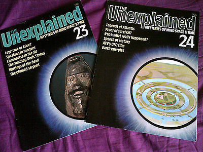 The Unexplained - Mysteries of mind, space & time. Issues 23 & 24.