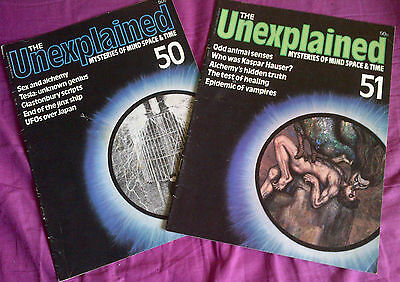 The Unexplained - Mysteries of mind, space & time. Issues 50 & 51.