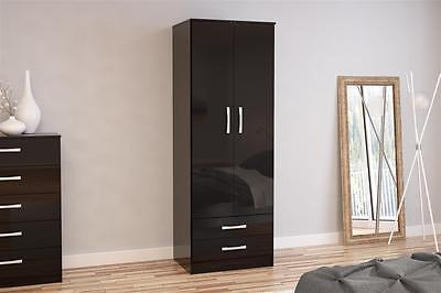Lynx High Gloss Wardrobe + Drawer Collection **Incredible Value**