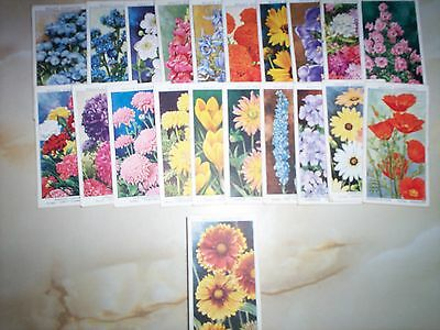 F/S 50 cards Wills  Garden Flowers by Sudell.