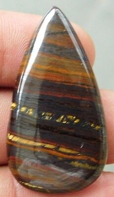 48.6 Cts 100% Natural  !! Fantastic Nice  Iron Tiger 42X22 Cabochon Gemstone
