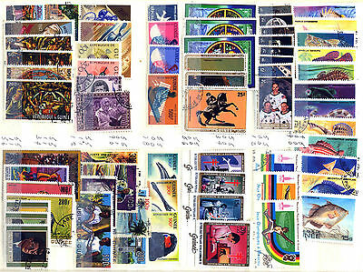 Republic Of Guinea 1959 – 1983 ***** 67 Stamps ***** 14 Mint