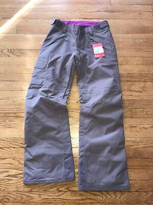 North Face Women's Medium Dryvent 2L Freedom Insulated ski pant Costal Grey