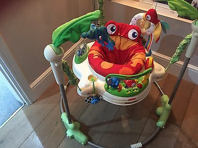 fisher price rainforest jumperoo /bouncer