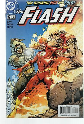 The Flash # 221 / V.fine / Dc 2005 / Rogue War Part Two.