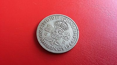 1944 George VI Florin Two Shilling Great Britain 2/- coin
