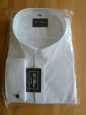BN Colin Ross White Wing Collar Dress Shirt  20""