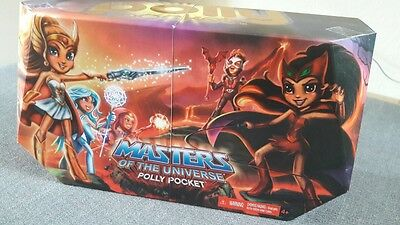 Masters Of The Universe Polly Pocket Set -San Diego Comic Con 2011- OVP New NRFB
