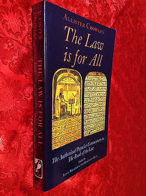 ALEISTER CROWLEY - The Law Is for All - New Falcon 1996