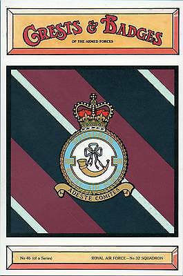 """26 POSTCARDS of """"CRESTS and BADGES of the ARMED FORCES"""""""